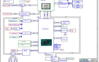 Lenovo Ideacentre AIO 910-27ISH Wistron A900 15083-1 Schematic